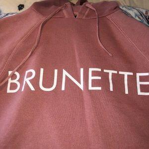 BRUNETTE THE LABEL HOODIE